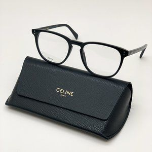 💯 NEW Celine CL50046I 001 Unisex Eyeglasses
